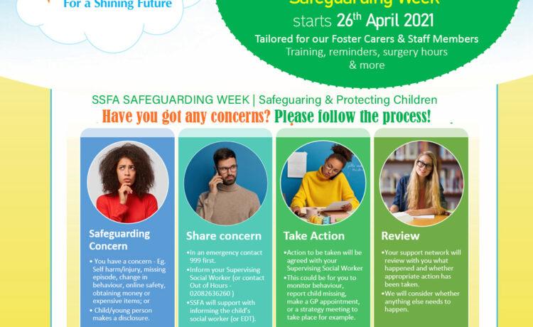 Shining Stars Fostering's Safeguarding Week starts 26th April 2021